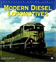Cover of: Modern diesel locomotives | Hans Halberstadt
