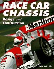 Cover of: Race car chassis