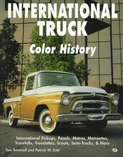 Cover of: International truck color history
