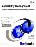 Cover of: Availability Management | IBM Redbooks