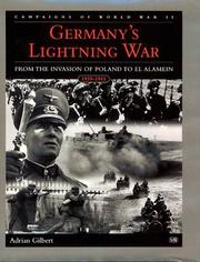 Cover of: Germany's Lightning War