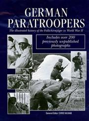 Cover of: German paratroopers