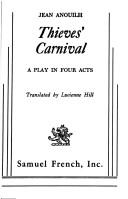 Cover of: Thieves' carnival