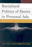 Cover of: Racialized Politics of Desire in Personal Ads