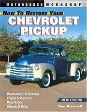 Cover of: How to restore your Chevrolet pickup