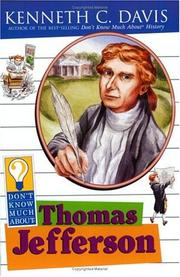 Cover of: Don't know much about Thomas Jefferson