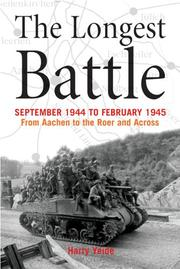 Cover of: longest battle | Yeide, Harry.