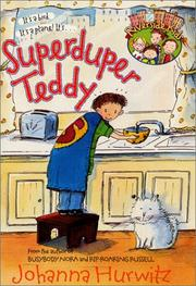 Cover of: Superduper Teddy