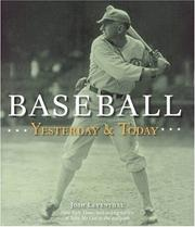 Cover of: Baseball Yesterday & Today | Josh Leventhal