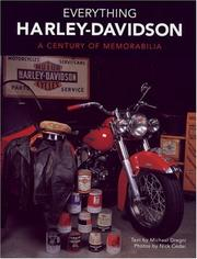 Cover of: Everything Harley-Davidson