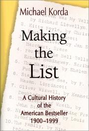 Cover of: Making the list