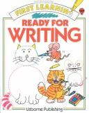 Cover of: Ready for Writing (First Learning) | Jenny Tyler