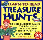 Cover of: Learn-to-read treasure hunts