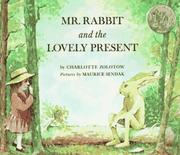 Cover of: Mr. Rabbit and the Lovely Present | Charlotte Zolotow