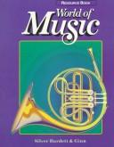 Cover of: World of music
