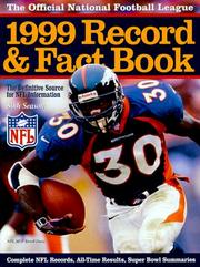 Cover of: The Official NFL 1999 Record & Fact Book | National Football League.