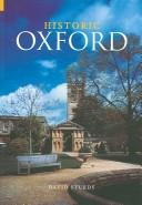 Cover of: Historic Oxford