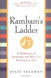 Cover of: Rambam's Ladder