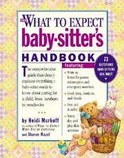 Cover of: The what to expect baby-sitter's handbook
