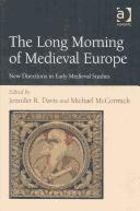 Cover of: The Long Morning of Medieval Europe |