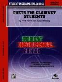 Duets for Clarinet Students, Level II (Student Instrumental Course) by Acton Ostling, Fred Weber