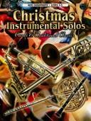 Cover of: Christmas Instrumental Solos
