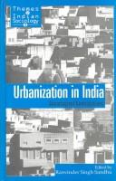 Cover of: Urbanization | R. S. Sandhu