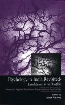 Cover of: Psychology in India Revisited; Developments in the Discipline