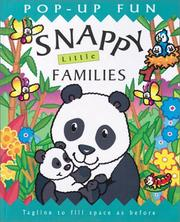 Cover of: Snappy little families: Join the Family!