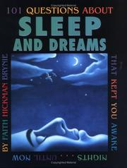 Cover of: 101 questions about sleep and dreams that kept you awake nights...until now