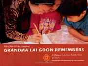 Cover of: Grandma Lai Goon remembers