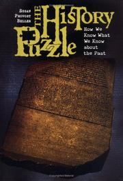 Cover of: history puzzle | Susan Provost Beller