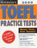 Cover of: Toefl Practice Tests With Audio 2000 (Peterson