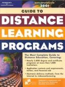 Cover of: Distance Learning Set W/MBA 2001 | Peterson