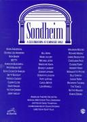 Cover of: Sondheim: A Celebration at Carnegie Hall (Vocal Selections) (Essential Box Sets)