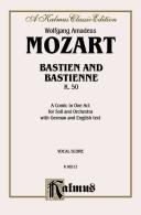 Cover of: Bastien und Bastienne