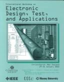 Cover of: International Workshop Electronic Design, Test, and Applications (Delta 2002) |