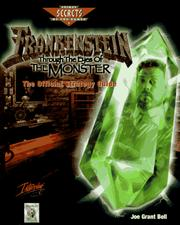 Cover of: Frankenstein: Through the Eyes of the Monster: The Official Strategy Guide (Secrets of the Games)