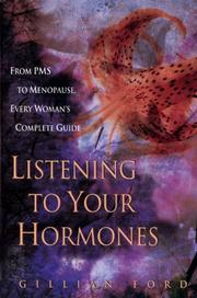 Listening to your hormones by Gillian Ford