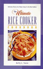 Cover of: The ultimate rice cooker cookbook