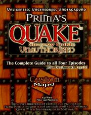 Cover of: Prima's Quake