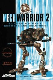 Cover of: MechWarrior 2 Expansion Pack Secrets & Solutions (Game Buster Get a Clue)