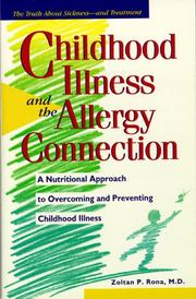 Cover of: Childhood illness and the allergy connection