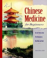Cover of: Chinese medicine for beginners