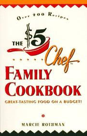 Cover of: The $5 Chef Family Cookbook