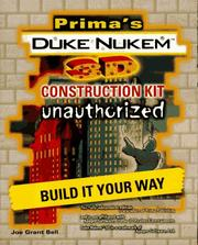 Cover of: Duke Nukem 3D Construction Kit: Unauthorized (Secrets of the Games Series.)