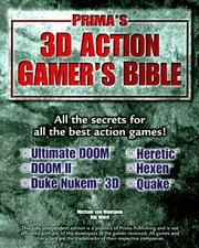 Cover of: 3D action gamer's bible