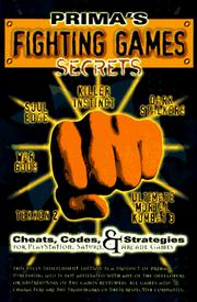 Cover of: Fighting Games Secrets (Secrets of the Games Series.) | Pcs