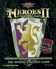 Cover of: Heroes of Might & Magic ll: The Official Strategy Guide (New World's Might & Magic Series , No 2)