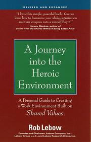 Cover of: A journey into the heroic environment